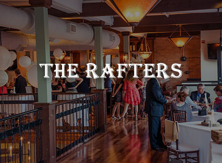 Private Events - The Rafters at Harvey's Restaurant & Bar - Saratoga Springs, NY